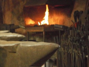 le petit volcan du foyer de la Forge du Luguet