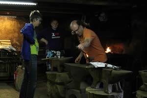 Groupe visites: Forge du Luguet.