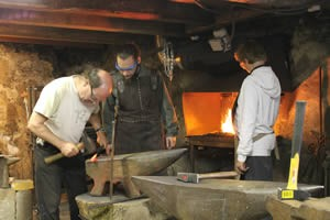 Forge du Luguet: stages.